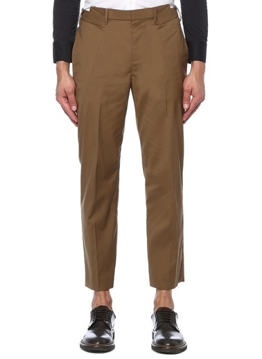 Neil Barrett Neil Barrett  Normal Bel Dar Paça Pantolon 101491936 Bej